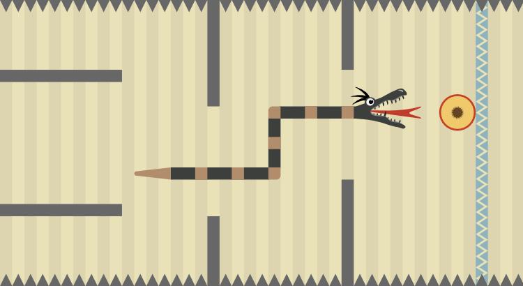 Snake Runner: Crazy Fruit Rush - a fast paced HTML5 endless runner game
